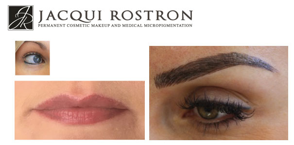Microblading permanent cosmetic make up
