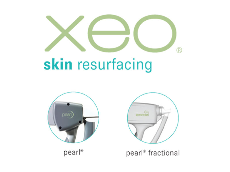 Cutero XEO skin resurfacing laser Pearl and Pearl Fractional skin aesthetics